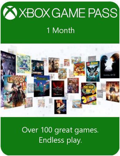 Xbox GAME PASS – 1 месяц (Xbox One) | Global